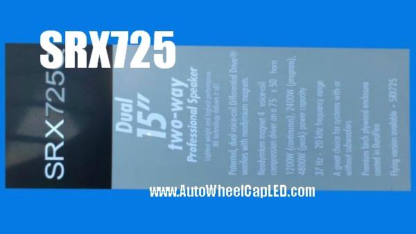 Jbl srx715 srx725 hi fi speaker 5pcs full set emblems badges stickers grille labels srx700 series autowheelcapled com