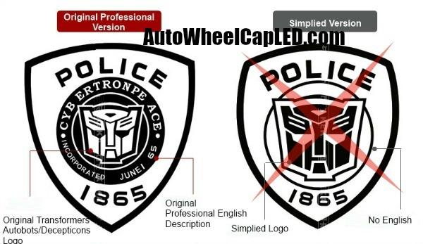 transformers 9 1 1 autobots decepticons full set police cop 1865