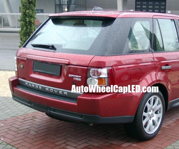 Land Rover 4 Hse: Range Rover 'SPORT HSE' Matte Silver Emblems Letters