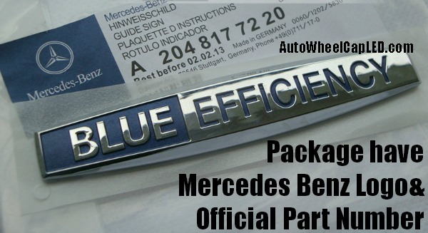 Mercedes benz genuine blueefficiency blue efficiency for A mercedes benz product sticker