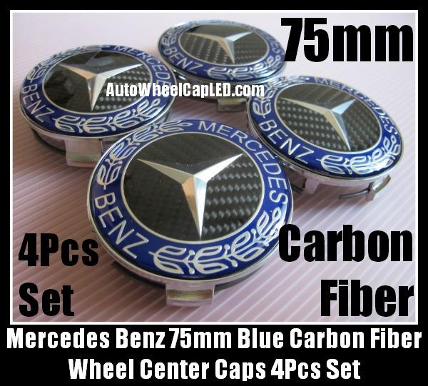 Ebluejay mercedes benz black carbon fiber blue chrome for Mercedes benz payment center