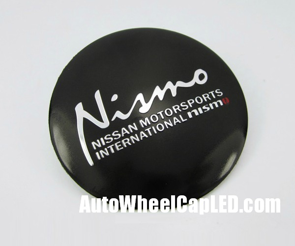 NISMO NISSAN Wheel Center Caps Emblems Stickers 56.5mm ...