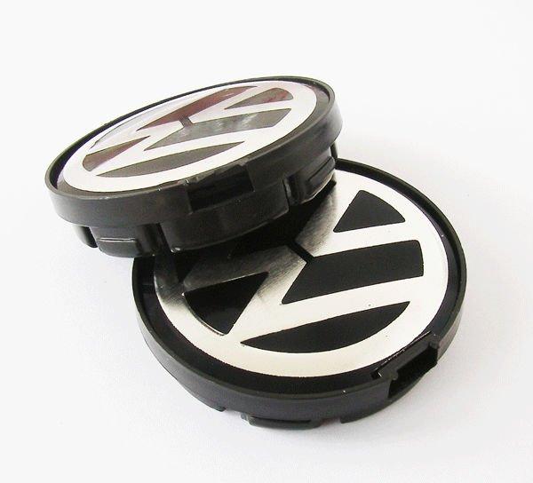 vw volkswagen 55mm wheel center emblems caps 6n0 601 171. Black Bedroom Furniture Sets. Home Design Ideas