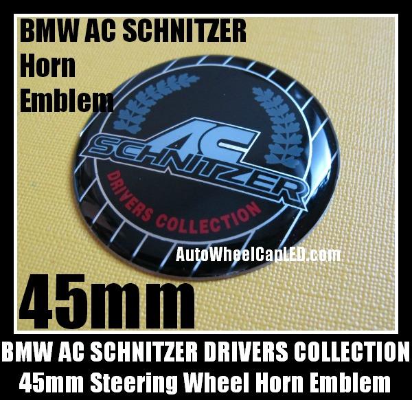 BMW BMW AC Schnitzer Drivers Wheel Center Caps 68mm