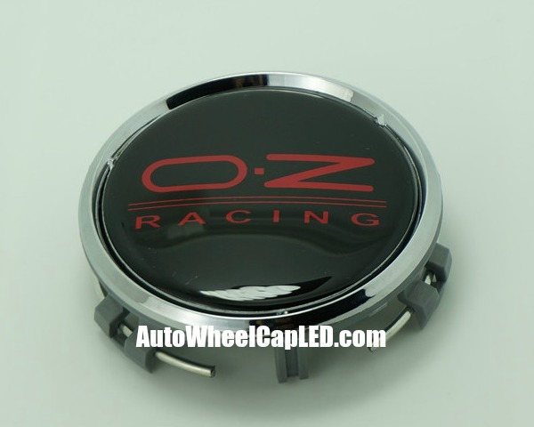 Mercedes benz oz racing devil black red wheel center caps for Mercedes benz wheel cap emblem