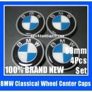 BMW Classical Blue White 69mm Wheel Center Emblems Hub Caps 4Pcs in Set