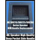 JBL Speaker Cabinet Metal Side Handles 2Pcs with Screws SRX715 SRX718 SRX725 SRX728 SRX700 Series Replacement Heavy Duty Recessed