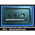 JBL SRX715 SRX725 Speaker Back Jack Plate Metal Jackplate w/ Dual Speakon Inputs OEM Replacement JRX700 Series