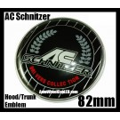 BMW AC Schnitzer Hood Trunk Emblem Roundel Badge 82mm 2Pins Drivers Collection