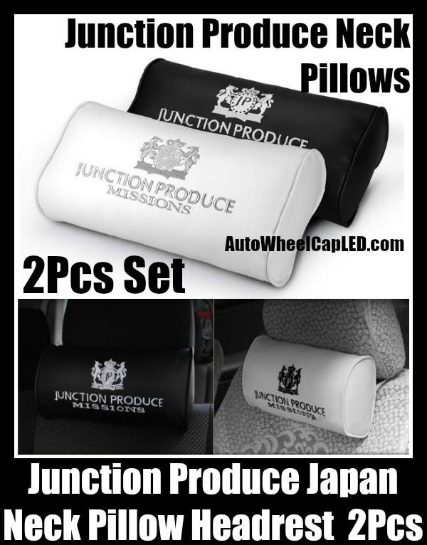 2PcsSet Vehicle Headrest Neck Pillow