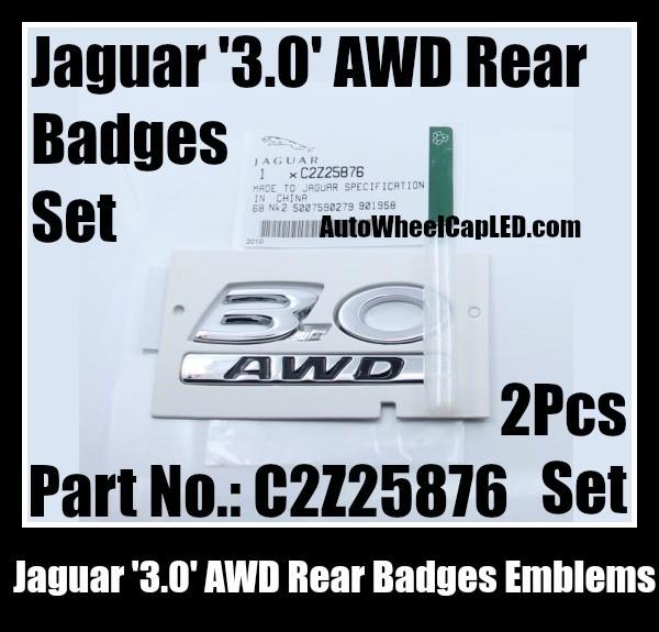 Chrome Letters X F Car LOGO Trunk Rear Badge Emblems Emblem for Jaguar XF