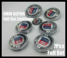 BMW Alpina Full Set Emblems - AutoWheelCapLED.com